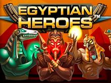 Играть онлайн в мобильной версии в Egyptian Heroes