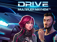 Drive: Multiplier Mayhem: азартный игровой аппарат